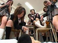 Hottest Japanese whore in Fabulous Group Sex, seks germani JAV video