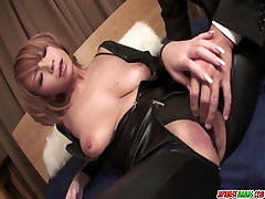 Sumire Matsus Tight Pussy Gets Creampied