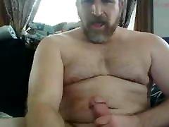 hairy dad has a big fat cock 2