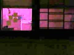 Voyeuring neighbor across the street