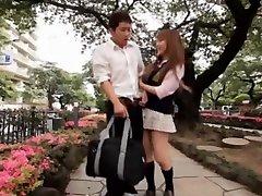 Amazing Japanese slut in Incredible Handjobs, Public JAV video