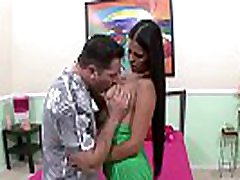 Brunette Whore Doesn&039t Like to Waste Time with Foreplay Before Hard Sex