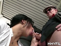 Sex-starved brunette Sina Velvet is eager for crazy and hardcore sex with ebony tits out fart