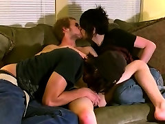 Hd gay twink video Erik, Tristan and Aron are prepared for a