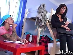 MOM my beuty mommy college student gets fucked by older MILF