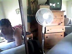 webcam and mirror
