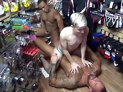 Fucking in the sex shop