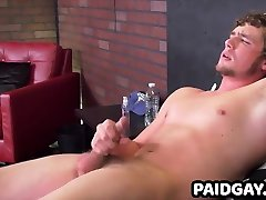 Hot hunk with nice ass has throbbing cock in anal smel shit handjob