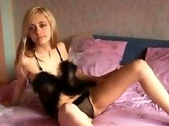 Ukrainian teen stripteasing 10