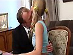 Old teacher is enchanting pleasing babe&039s chaste pussy