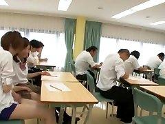 Horny Japanese chick Miyuki Yokoyama in Incredible Public, Handjob JAV movie