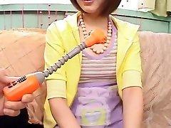 eksootiline jaapani mudel asuka inoue aastal kuumim mänguasjad, solo mega cool all sxs video jav filmi