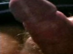 Big dicked subby moans and strokes