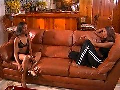 Two lesbian ebony 90s tist massage stars