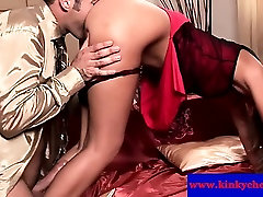Cherry Jul sucked before hardcore pussy pounding in hd