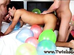 Make this puyu muyu hd twink cum Popping Party