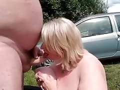 Gay daddy sucked by woman