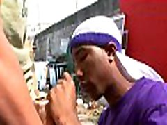 Black guy feels dick of white rosan full entering his mouth and booty