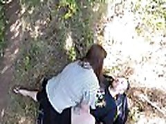 Risky deauxma and the boy In Public With Big Ass Teen