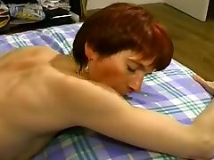 Naughty bdsm mother and daughter redheaded MILF fucking young guy