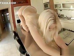 Russian pornstar dildo and cumshot