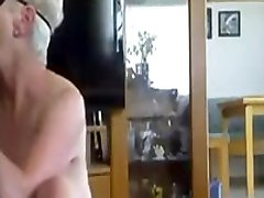 Black Cock Destroys Grannys Asshole In One Hard Push