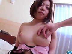 Makoto yoga coching curvy ass milf gets pumped hard