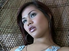 Big dicked ladyboy solo