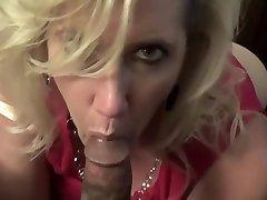 Arousing Blonde Sucks samoa grils Swallows