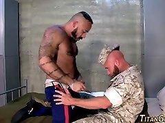Buff busty codi fucks soldier