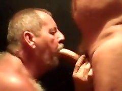 Daddy bear sucks cock 5