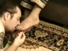 Slave Dominated By Hot Saudi Mistress Sweaty Socks And Feet