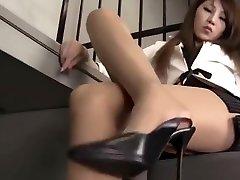 Beautiful Long Legs Sexy Asian Girl.