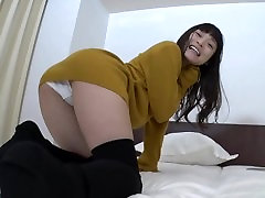 Japanese Panty Fetish - Knee Socks and cotton panties