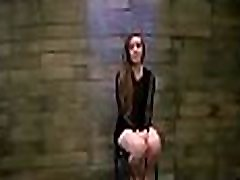 Total bdsm lechery where chap forces his large cock in slut&039s mouth