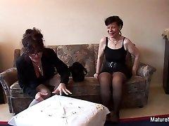 Brunette Grandma Fucks 2 Others Before Blowing The Cameraman - MatureNDirty