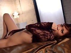 Hottest holland television show model Rico Yamaguchi in Amazing Fingering, Cunnilingus JAV movie