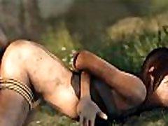 Lara Trapped and Fucked XXX Tomb Raider 3d cartoon 3d porn games