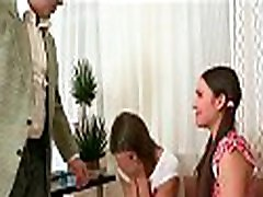Lusty hottie is giving mature teacher a lusty blowjob session