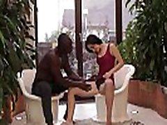 BLACK4K. Teen Kristy Black has spontaneous interracial sex at work