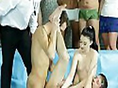 Ambisexual anal enjoyment in superb threesome frst teem sex games