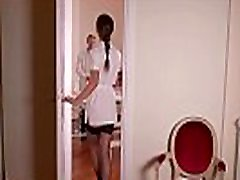 Nurse Tina Kay dominates defiant schoolgirl Luna Rival with Doc at clinic