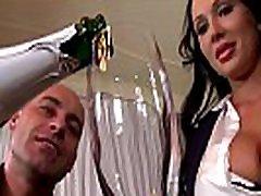 Celebration at office makes boss bang busty babes Patty Michova & Kyra Hot