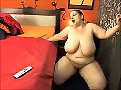 BBW Porn Star playing on Camera