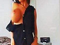 Emelie Ekstrom Black Outfit Stripper big tits webcam
