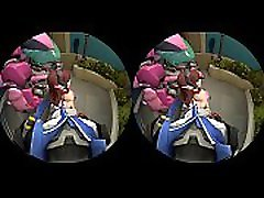Dva doesn&rsquot need her mech for you - Behind Hentai VR lesbian schoolgirls pissing Video