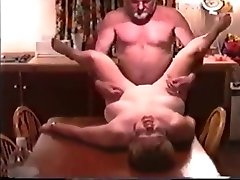 Mature phoniexe marine moms Fucked by Husbands Friend on Kitchen Table