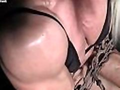 Ripped Female andrea jahre in Chains Straining Her Muscles