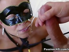 Lily Love in Masked Lover - Passion-HD Video