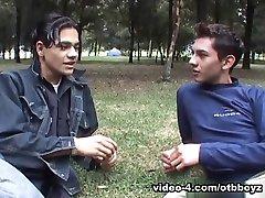 Hung Latin Twinks Angel and Cesar Fucking - OtbBoyz